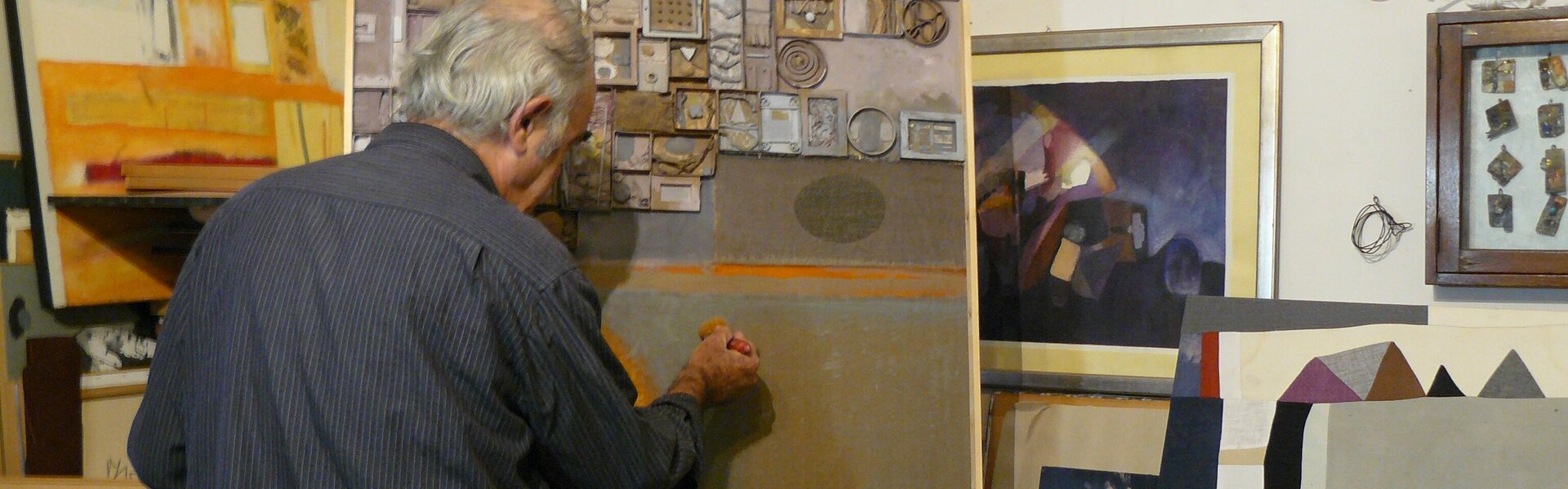 Merlino Bottega D Arte andrea massaro : contemporary italian painter, draftsman