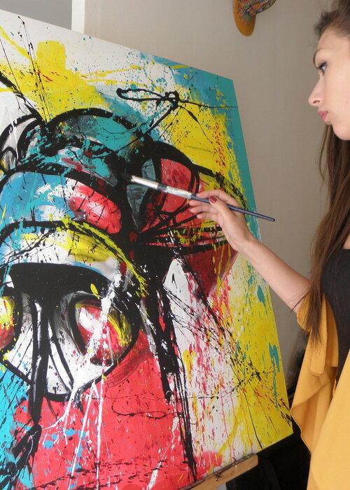 Soraya Artiste Peintre Dessinatrice Contemporain Francaise Singulart