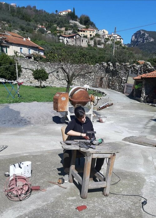 Clarissa Falco Contemporary Italian Painter Sculptor Singulart