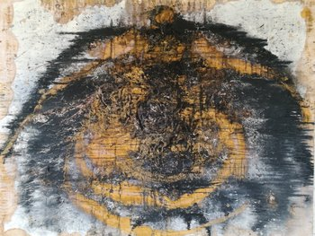 MARRAGORRIA Jodd Von Schaffstein Peinture Acrylique, Gouache, Fusain sur Toile