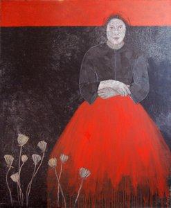 Anastasia Cécile Duchêne-Malissin Painting Acrylic, India ink on Canvas