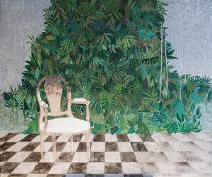Véranda II Cécile Duchêne-Malissin Peinture Acrylique sur Toile