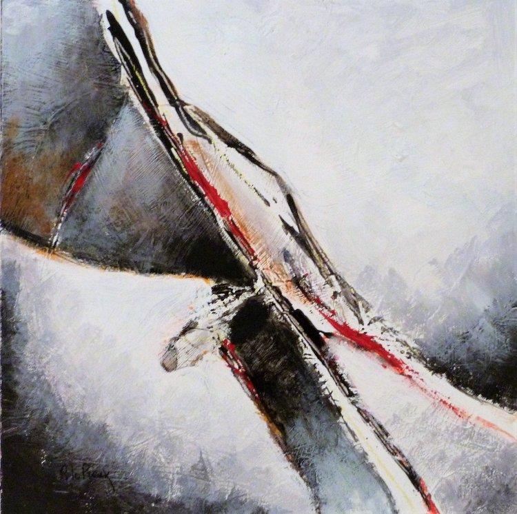 Faille I De Pierre Le Preux 2019 Peinture Acrylique Sur Toile