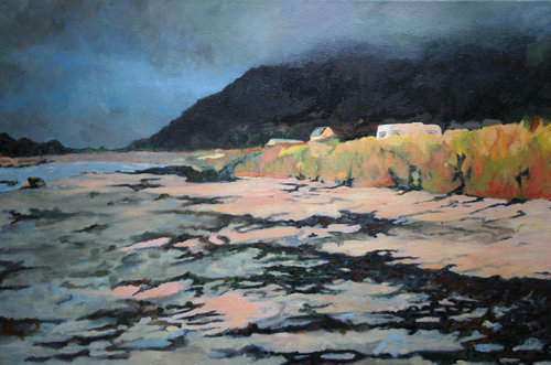 Gimsoy Strand Anke Gruss Malerei Öl auf Leinwand