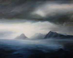 Brigadoon Anke Gruss Malerei Öl auf Leinwand