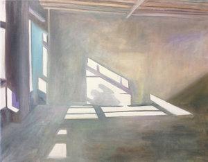 Room II Anke Gruss Malerei Öl auf Leinwand