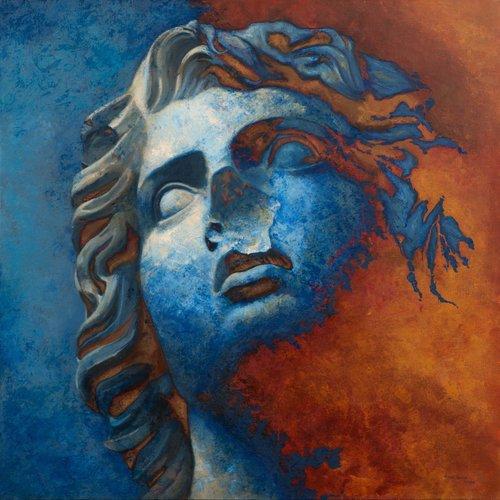 Rostro nº 1 Juan Manuel Álvarez Cebrián Peinture Huile sur Toile
