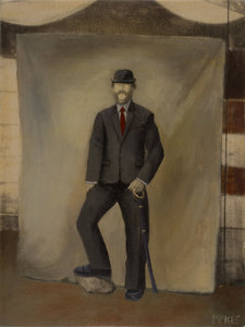 Class Action Suit Casey Mckee Painting Oil on Canvas