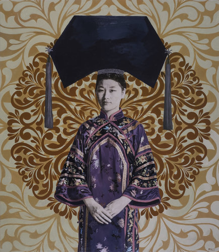 Zhan Ting Ting Casey Mckee Painting Oil on Canvas