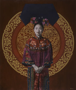Fang Lihua Casey Mckee Painting Oil on Canvas