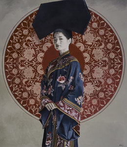 Wang Cuijiao Casey Mckee Painting Oil on Canvas