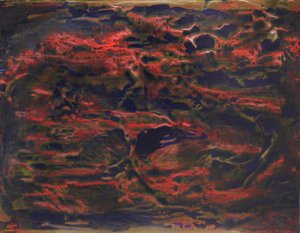Pollinisation 9 François Husson Peinture