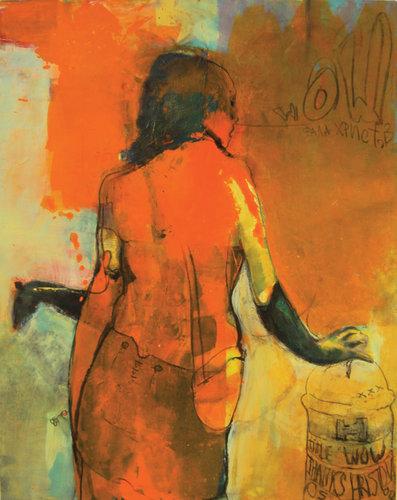 Wow... Thanks Hristov Vladimir Hristov Painting Acrylic, Oil, Chalk on Canvas