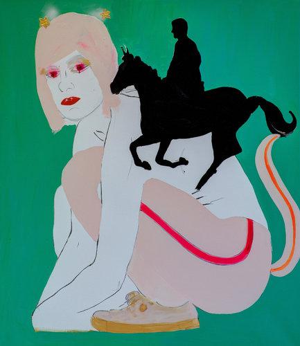 Self Alona Harpaz Peinture Acrylique sur Toile
