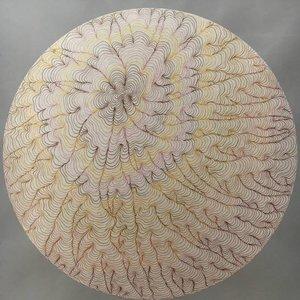 Sphere Map Sara Willett Oeuvre sur papier Acrylique