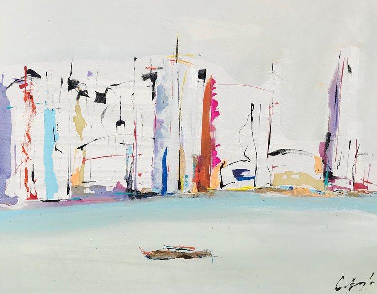 More Tjhan Beautifiul De Gisela Gaffoglio 2018 Peinture