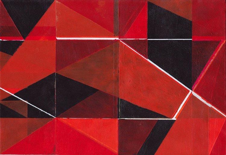 Untitled (6) 2015 Richard Caldicott Oeuvre sur papier Acrylique