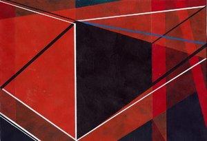 Untitled (9) 2015 Richard Caldicott Oeuvre sur papier Acrylique