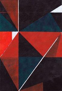 Untitled (5) 2015 Richard Caldicott Work on paper Acrylic