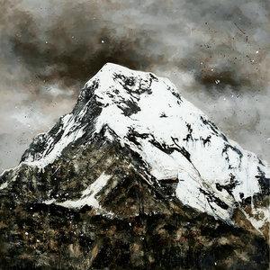 Fondo Cassa Annapurna Fabio Imperiale Malerei Acryl, Aquarell auf Leinwand