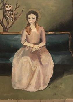 Goya's mistress Daisy Clarke Peinture Gouache