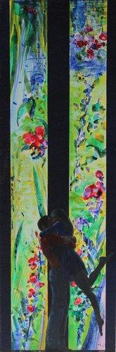 Un aprés-midi à l'atelier François Pagé Painting Oil on Canvas