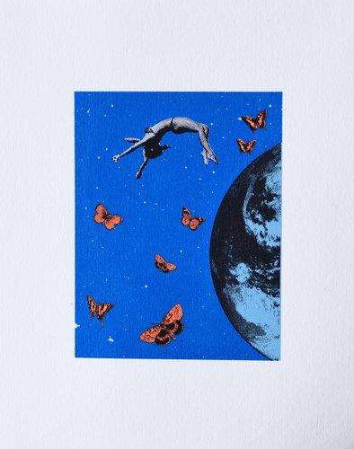 Up Anne Storno Impression Lithographie sur Papier
