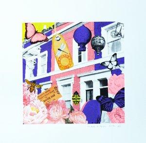 Un zeste de poesie Anne Storno Impression Collage, Lithographie sur Papier