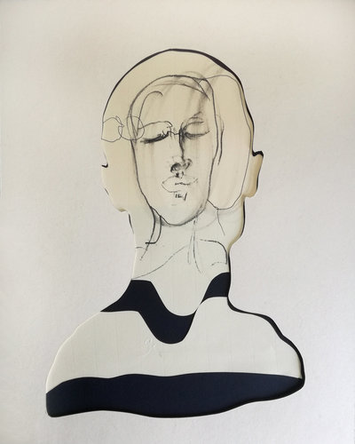 ct6 Stefano Mazzolini Work on paper Charcoal, Ink on Cardboard