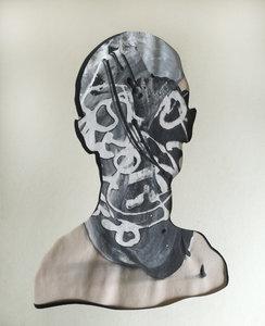 ct12 Stefano Mazzolini Work on paper Acrylic on Cardboard
