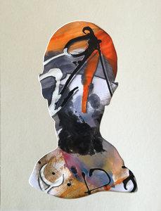 ct2 Stefano Mazzolini Work on paper Acrylic on Cardboard