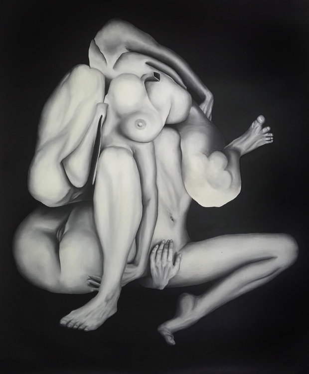 f17 Stefano Mazzolini Peinture Huile sur Toile