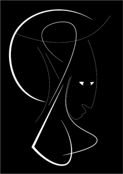 Portrait Stefan Leonte Digital  sur Papier