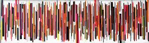 VOICE Christian Winkelmann - Tape Artist Peinture Ruban sur Panneau synthétique