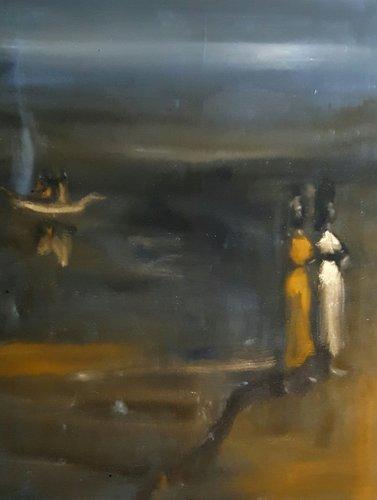 NOCTURNE de David Daoud (2016) : Peinture Huile sur Toile - Singulart
