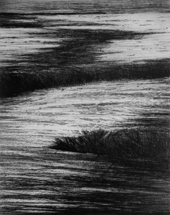 Verso la laguna Graziella Da Gioz Impression Gravure sur Papier