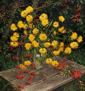 Yellow flowers by igor barkhatkov 2017 painting oil on canvas yellow flowers igor barkhatkov painting oil on canvas mightylinksfo