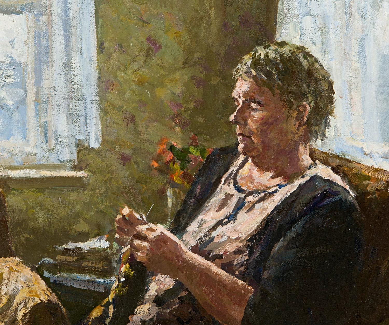 Tamara by Igor Barkhatkov (2014) : Painting Oil on Canvas - Singulart