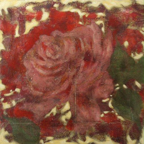 Fleur Pascal Honore Peinture Acrylique