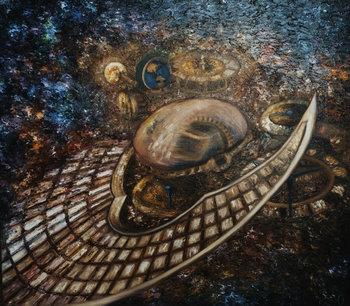 Nostalgia for the Homeland Yuliya Zelinskaya Peinture Huile sur Toile