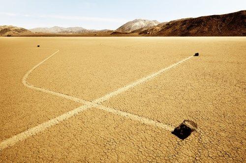 """277 Sacred Site, RaceTrack Death Valley USA, 2011, 36°41'42"""" N 117°33'54"""" W, tirage 1/6, tirage pigmentaire sur papier Hahnemühle. Jacques Pugin Photographie Digital sur Papier"""
