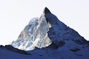 #56 La montagne s'ombre, Cervin, 2009, tirage pigmentaire sur papier Hahnemühle, collage sur Dibond 3mm facade acryl 4mm. Jacques Pugin Photographie Digital sur Papier