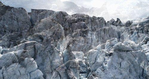 #16 Glaciers Offset, 2017, pigments Ultrachrome sur papier Hahnemühle. 53 x 100 cm. édition sur 6, Jacques Pugin Photographie Digital sur Papier