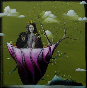 The Journey Lezzueck Coosemans Malerei Öl auf Leinwand