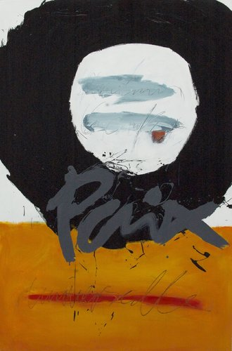 Paix Vincent Tagliabue Peinture Acrylique sur Bois