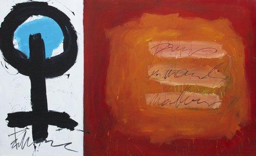 Pour un monde meilleur Vincent Tagliabue Peinture Acrylique sur Bois