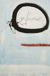 Confiance Vincent Tagliabue Peinture Acrylique sur Bois