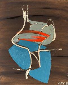 Vulpis Tina Oelker Malerei Öl auf Leinwand