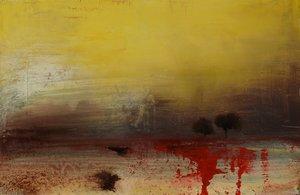 Dix sept heures Anne Brerot Peinture Acrylique sur Bois