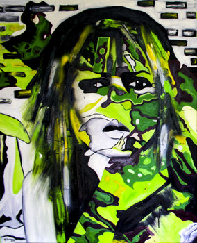 UNTITLED Magdalena Borkowska Peinture Huile sur Toile